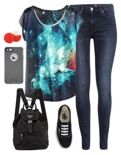 """Untitled #229"" by hjpnosser ❤ liked on Polyvore featuring H&M, Vans, OtterBox and Eos"