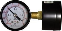 Utility pressure gauges for heavy duty industrial operations.