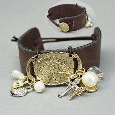 Free Spirit Horse tag charm bracelet from www,cowgirlshine.com