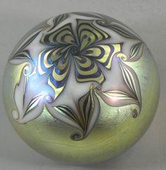 Zephyr Studio Art Glass Paperweight