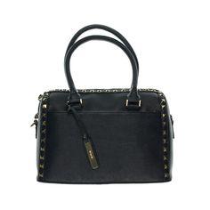 bbd6a5e995 Kensie Womens Studded Textured Satchel Handbag