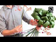 Blumenstrauß selber binden wie ein Florist - YouTube