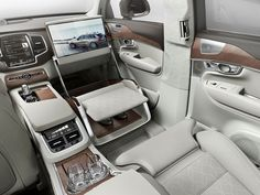 Nice Volvo 2017: Volvo XC90 Excellence Lounge Console interior concept Check more at http://cars24.top/2017/volvo-2017-volvo-xc90-excellence-lounge-console-interior-concept/