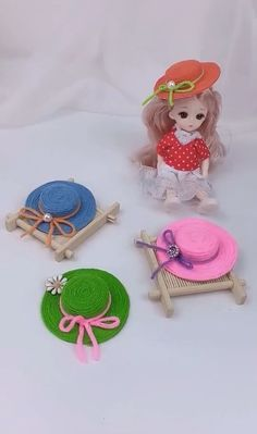 Diy Crafts Hacks, Diy Crafts For Gifts, Diy Arts And Crafts, Diy Crafts Videos, Creative Crafts, Diy Crafts Yarn, Yarn Crafts For Kids, Handmade Crafts, Doll Crafts