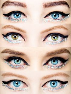 Makeup at Chanel Haute Couture Spring 2014 (inspiration)