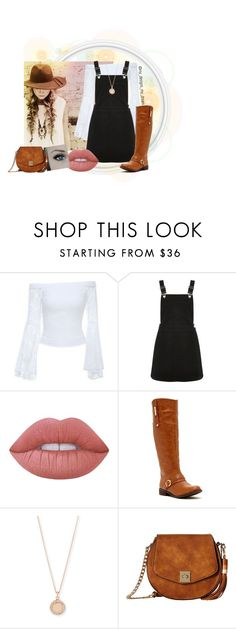 """Untitled #742"" by my-designs-my-dream ❤ liked on Polyvore featuring Bebe, Oasis, Lime Crime, Bucco, Astley Clarke and Gabriella Rocha"