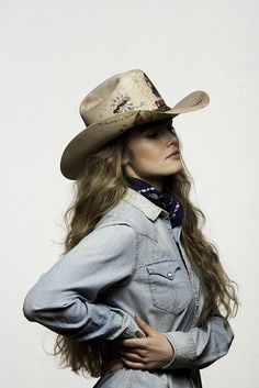 Double D Ranchwear Hat in collaboration with Greely Hat Company. Cowgirl  Chic 8aa38b7fc1c3