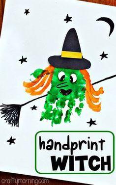 Candy Corn Monster Art Project #Halloween Craft...