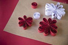 Originales flores de papel para decorar