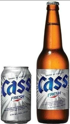 korea beer Most Popular Drinks, Alcoholic Drinks, Cocktails, Malted Barley, Beer 101, Beers Of The World, Beer Cans, Natural Preservatives, Beer Packaging