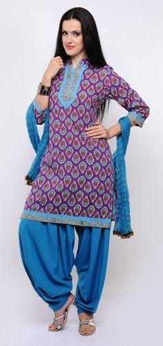 Patiala Salwar Kameez Punjabi Dress, Punjabi Suits, Salwar Suits, Indian Kurta, Indian Salwar Kameez, India Fashion, Suit Fashion, Pakistani Outfits, Indian Outfits