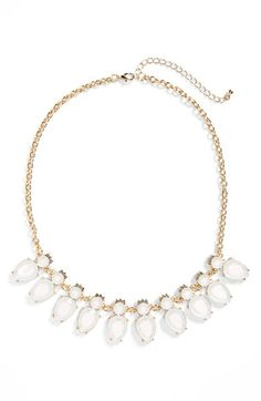 BP. Crystal & Stone Statement Necklace | Nordstrom