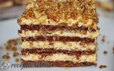 desszert stories and pictures at blikkruzs. Hungarian Desserts, Hungarian Cake, Hungarian Recipes, Sweet Desserts, Sweet Recipes, Delicious Desserts, Yummy Food, Cookie Recipes, Dessert Recipes