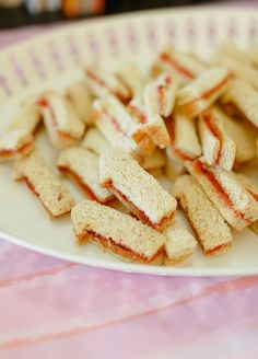 Yummy finger food for a first birthday party.