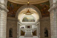 East Atrium Of The Utah State Capitol in Salt Lake City