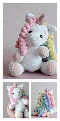 Cute Crochet, Crochet Crafts, Crochet Projects, Knit Crochet, Beautiful Crochet, Crochet Amigurumi Free Patterns, Crochet Dolls, Knitting Patterns, Amigurumi Tutorial