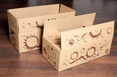 Orbital Disc boxes for sandpaper discs. Designed by Carlos Hoyos, Enrique Ricós & Emilio Borrás