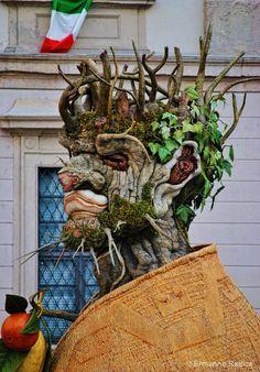 Arcimboldo inspired sculpture