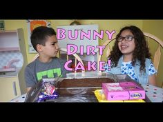 Kids Make Bunny Dirt Cake | MamaKatTV - YouTube