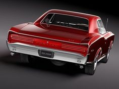 Second favorite muscle car.  '66 Pontiac GTO