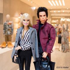 Quick meet up with @zoolander for a visit to the beautiful @maisonvalentino boutique. Adoring the ...