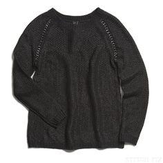 Stitch Fix Nico Chain Detail Metallic Sweater