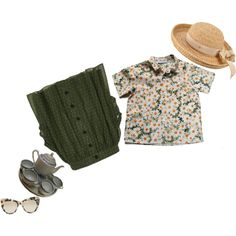 in the garden by greenisthenewgirl on Polyvore featuring Cacharel, River Island, Lonely, Helen Kaminski and STELLA McCARTNEY