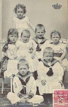 Grandchildren of future King Frederick VIII. of Denmark