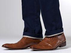 Trouser cuff detailing #smartcasuals