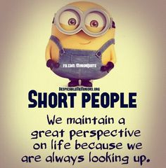 Minion Quotes - great prespective on life