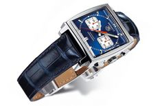 Tag Heuer Monaco  TAG Heuer Calibre 12 Automatic Chronograph Indicating the small second at 3 o'clock and chronograph minute at 9 o'clock – date at 6 o'clock