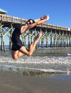 #olgaaru at N Charleston beach in 2014...she'll be back here in August! nutcracker.com