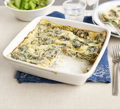 Mushroom and spinach lasagne - def one to try