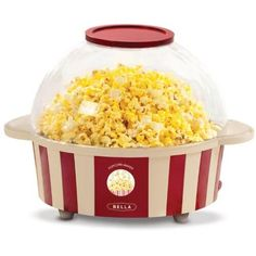 Bella Housewares provided the product for giveaway. The Bella Stir Stick Popcorn Maker gave us a break from the nasty chemicals found in our microwaveable popcorn! We never looked at the label before, thinking, Popcorn Seeds, Movie Popcorn, Pop Corn, Kitchen Necessities, Stir Sticks, Kitchen Recipes, Toaster, Popcorn Maker, Kitchen Gadgets