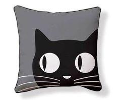 almohadones con ojos de gato - Buscar con Google
