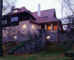 Villa at Hvittrask, 1903 near Helsinki / Eliel Saarinen