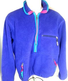 Patagonia #Vintage Size Large 1/2 Zip Pullover Fleece Jacket #GratefulDead USA #Patagonia #FleeceJacket #Hippie #Deadhead #420