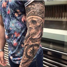 We're seeing skulls with these 99 killer skull designs. Guaranteed to make you want another #tattoo!