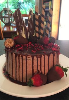 Chocolate Drip Cake, Drip Cakes, Link, Check, Desserts, Recipes, Food, Tailgate Desserts, Deserts