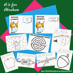 Preschool Alphabet: A is for Abraham