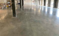 SF Concrete Polishing for Commercial Warehouse. 800 Grit Polish, Light Aggregate Exposure (Class C), Final Gloss Meter 60 Degree Reading: Concrete Light, Polished Concrete, Concrete Floors, Industrial Office Space, Visual Management, Warehouse Office, Business Design, Signage, Commercial