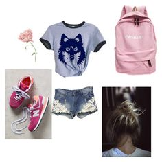 """""""Untitled #270"""" by belenrosas on Polyvore featuring New Balance"""