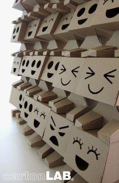 cartonLAB robots #cardboard
