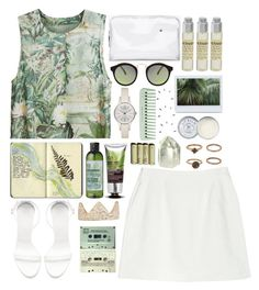 """""""Jungle Fever"""" by nikka-solatorio ❤ liked on Polyvore featuring Moleskine, H&M, Zara, The Body Shop, Forever 21, Balenciaga, Whitney Eve, ASOS, Jack Wills and Le Labo"""