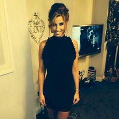 Lola Loves Fleur Backless Little Black Dress as worn by Ferne McCann TOWIE