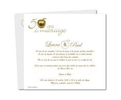 Texte Anniversaire De Mariage 50 Ans