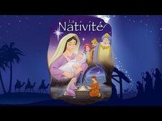 La nativité, la naissance de Jésus - Dessin animé biblique - YouTube Plus