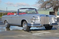 1966 Mercedes 250 SE Convertible Manual LHD (W108) - Silverstone Auctions