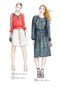 Fashion Sketches, Fashion Illustrations, Look, Sewing Patterns, Mini, Casual, Dresses, Crafts, Style