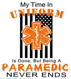 My Time in Uniform Paramedic Cutting File  by RatchetCatDesigns
